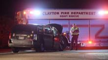 IMAGES: Seven suffer minor injuries in Clayton wreck