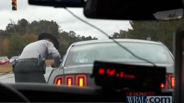 NC Trooper stops motorist