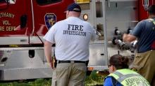 IMAGES: Father, son killed in Johnston County house fire
