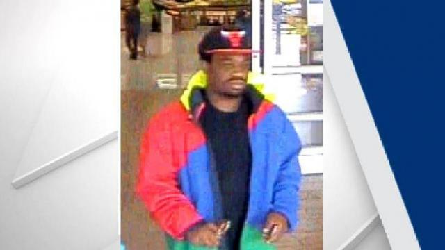 Police in Fayetteville are searching for a man who they say tried to rob a woman on Monday.