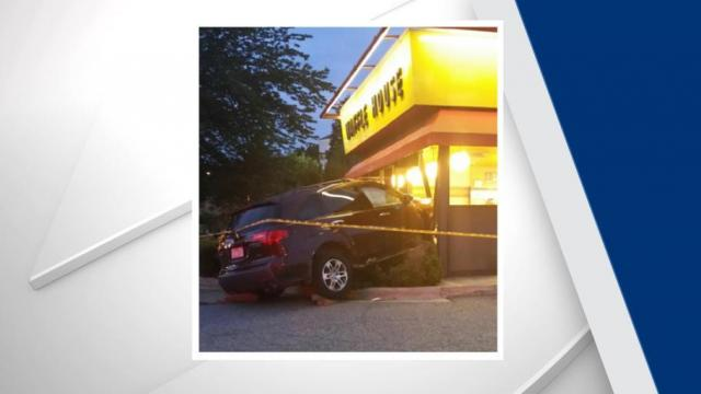 Driver charged with DWI after crashing into Waffle House, hitting pedestrian