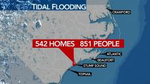 IMAGES: Study: By 2045, nearly $4 billion worth of residential property at risk of chronic flooding