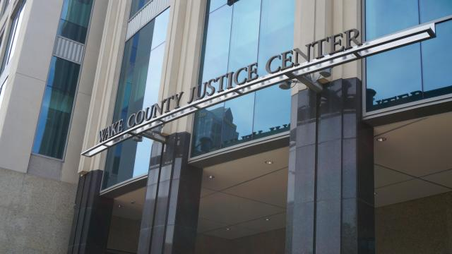 The Wake County Justice Center is located in downtown Raleigh. Photo taken June 18th, 2018.