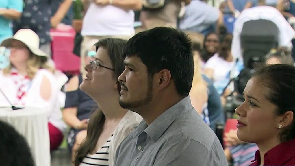 Naturalization ceremony held in downtown Raleigh :: WRAL com