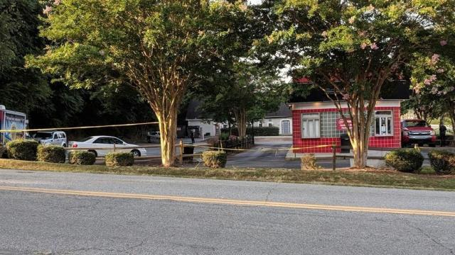 Police in Winston-Salem are investigating a drive-thru shooting. Credit: WXII