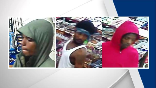 The Durham Police are trying to identify three men who were involved in an armed robbery in the early morning of July 2.