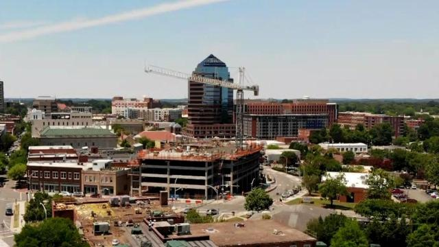 28 Story Durham City Center Almost Complete Wral Com
