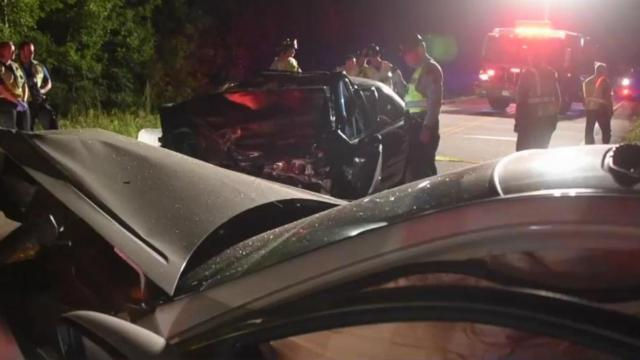 Fatal Johnston County crash