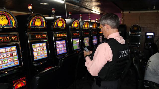 ice casino raid