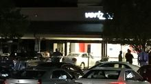 IMAGES: 'My damn phone's not working': Man goes off on Verizon staff before crashing car into Raleigh store