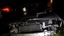 IMAGES: 2 hurt in wrong-way crash on I-40 near Garner