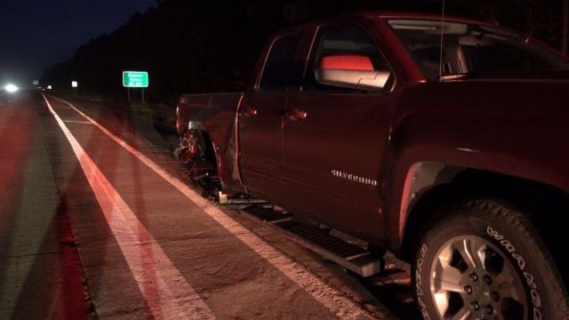 2 hurt in wrong-way crash on I-40 near Garner