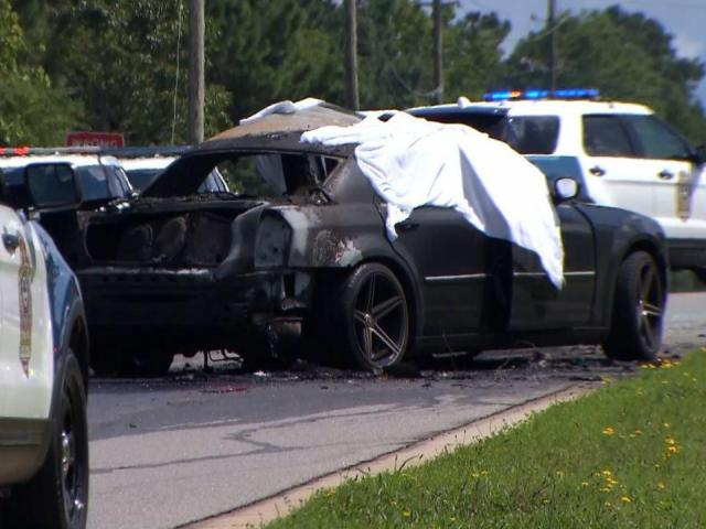 Man, child killed in fiery crash in Raleigh :: WRAL com