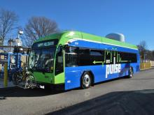 The Pulse is Richmond's bus trapid transit system
