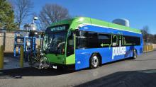 IMAGES: Richmond's bus rapid transit system, The Pulse