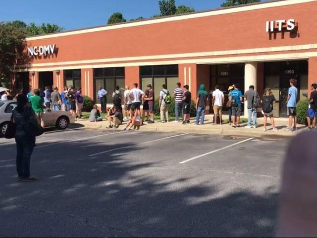 Live: Adam Owens finds out what's going on at the Cary DMV