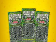 Johnston County couple wins $1 million with lottery scratch-off