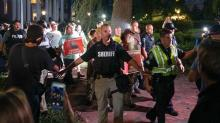 IMAGES: Dueling demonstrations held near 'Silent Sam' on UNC campus