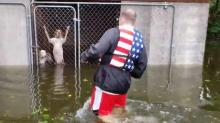 IMAGES: People, animals rescued from Florence's floodwaters