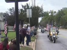 Wall That Heals tour in Wake Forest