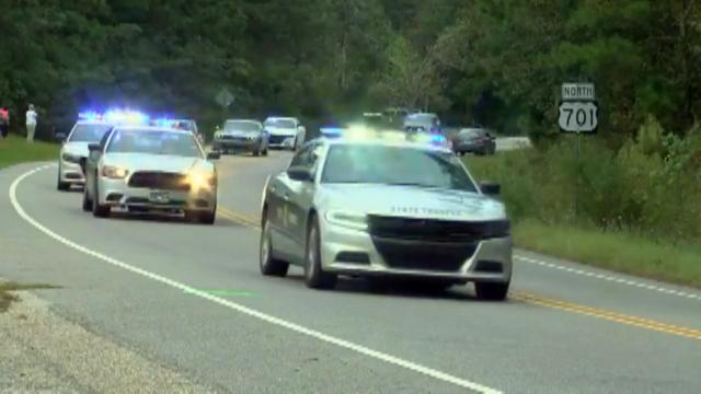 Law Enforcement Honors Slain Trooper With Motorcade Wral