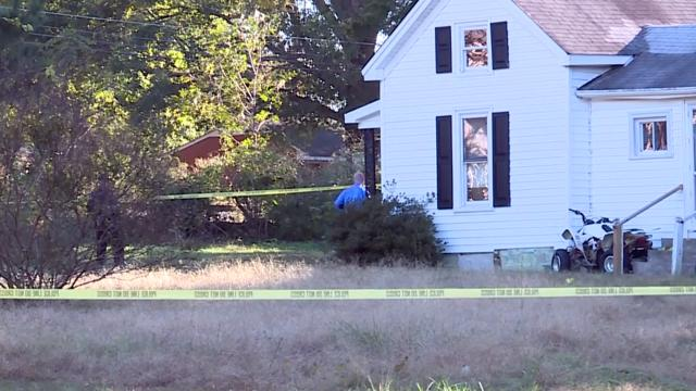 Wake Forest police investigate a shooting death on Oct. 30, 2018.