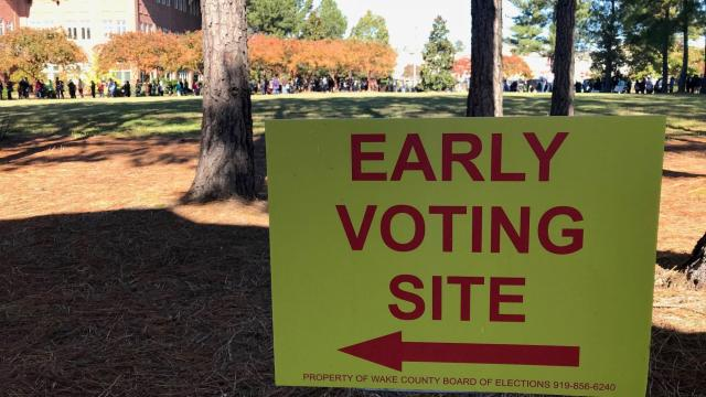 Hurricane Dorian forces early end to early voting in some