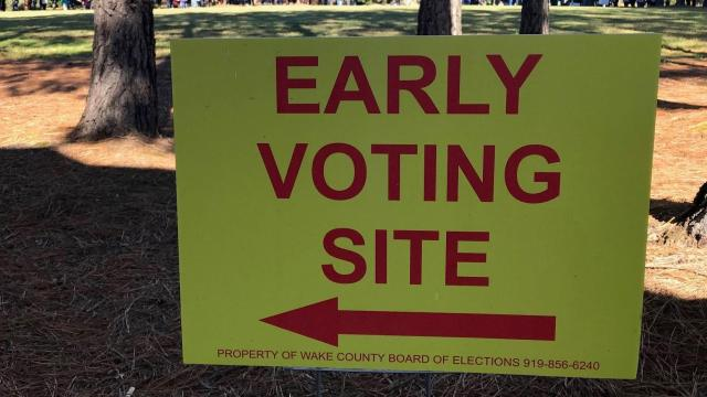Early voting in Apex