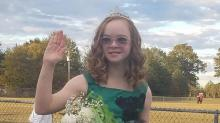 IMAGES: Eighth grader with Down syndrome voted homecoming queen