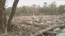IMAGE: Logjam caused by Hurricane Florence creates concerns in Elizabethtown
