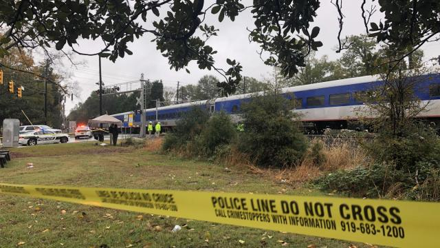 Person struck, killed by train in Durham