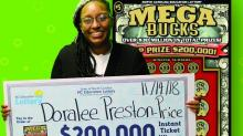 IMAGES: She went shopping for soap, cleaned up with $200K lottery win