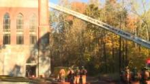 IMAGE: Cary FD: Electrical short likely caused fire at mosque