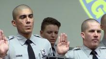 IMAGE: Highway Patrol celebrates new troopers after losing three veterans this year