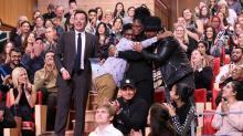 IMAGE: Lumberton couple's Big Apple getaway resulted in an even bigger surprise