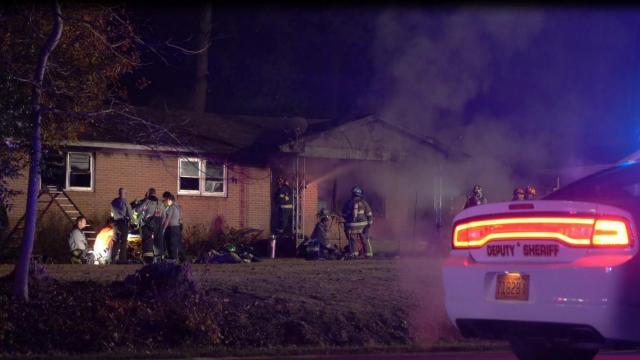 Four Oaks fire sends 3 to hospital
