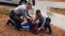 IMAGE: Harnett deputy suspended after teen assaulted while recording arrest