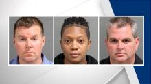 Michael Blake, Tabithia Davis, Rodney Goswick, fired troopers