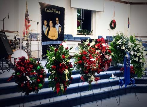 Lumberton officer funeral