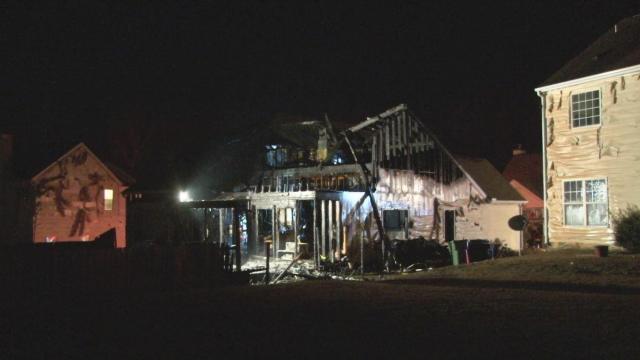 Christmas Eve Fire Destroys Family S Durham Home Wral Com