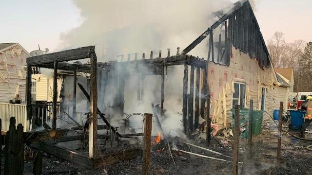 Durham Family Left Homeless On Christmas Day After Massive Fire