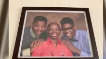 IMAGE: Sons bring Wendell mom shock and joy with early Christmas visit
