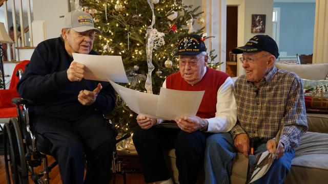 Vets meet for first time