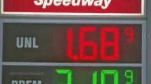 IMAGE: A Christmas present for your wallet? Gas prices hover around $2 in central NC