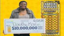 IMAGE: NC great-grandmother wins $10 million in Christmas Eve lottery