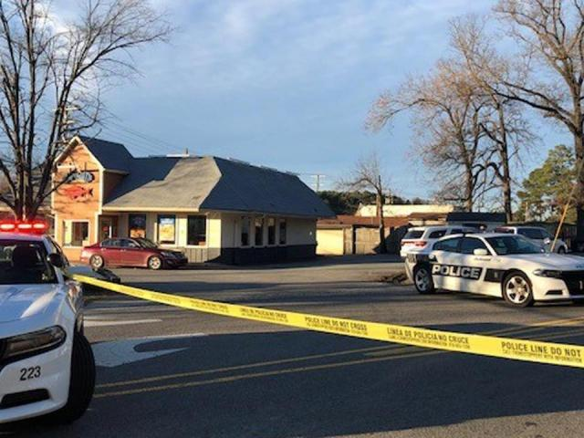 Authorities were investigating a shooting Sunday afternoon in Durham.