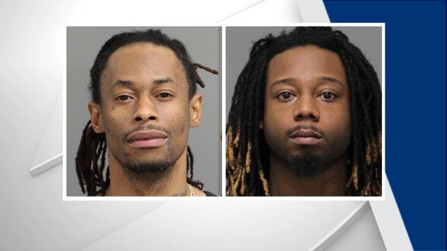 Dawud Kasiim Thompson, 38, and Victor Kenneth Glover Jr., 29, were charged with assault with a deadly weapon with intent to kill inflicting serious injury.