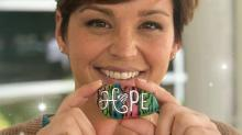 IMAGE: Raeford woman who created 'Rocks for Hope' dies after cancer battle