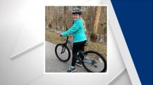 IMAGE: As family struggles with cancer diagnosis, Raleigh officer replaces their daughter's stolen bicycle