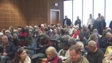 IMAGE: Rocky Mount residents try again to voice their concerns to council members